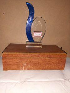 Award plaque C222