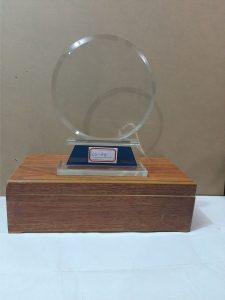 Award plaque LS-A4