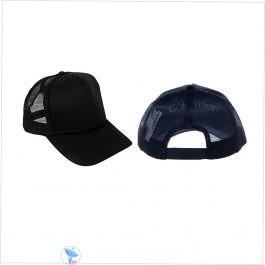 Black Net Cap