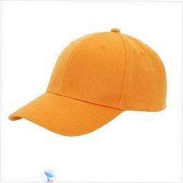 Plain Orange Cap