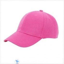 Plain Pink Cap