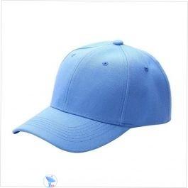 Plain Sky blue Cap