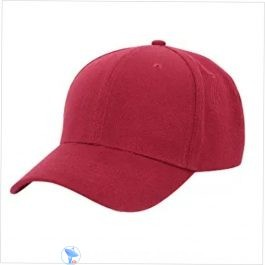 Plain Wine Red Cap