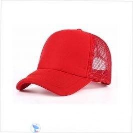 Red Net Cap