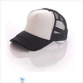 White & Black sublimation Cap