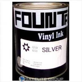 silver pvc fountain ink